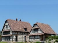 Reconstruction d'une habitation en Colombage