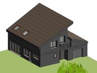 Projet maison à performance positive